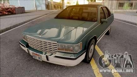 Cadillac Fleetwood Brougham 1993 v2 para GTA San Andreas