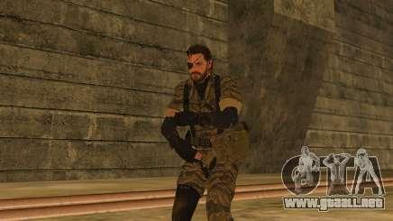 Metal Gear Solid V TPP Snake para GTA San Andreas