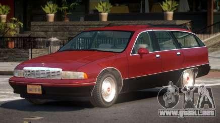 Chevrolet Caprice CL para GTA 4
