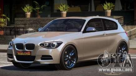 BMW M135i RS para GTA 4
