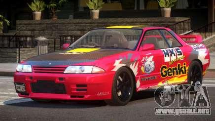 Nissan Skyline R32 V-Style PJ3 para GTA 4