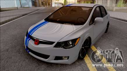 Honda Civic FD6 Grey para GTA San Andreas