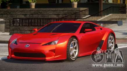 Lexus LFA R-Style para GTA 4