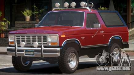 Ford Bronco V1.0 para GTA 4