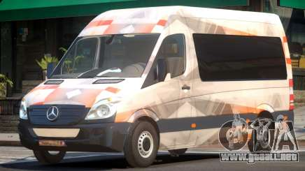 Mercedes Benz Sprinter MR PJ1 para GTA 4
