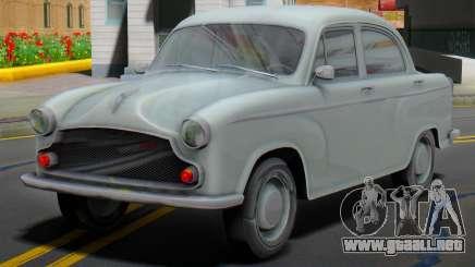 1965 Hindustan Ambassador MK-II (Dynasty style) para GTA San Andreas