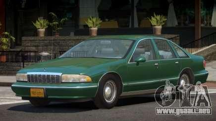 Chevrolet Caprice V1.2 para GTA 4
