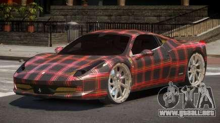 Ferrari 458 R-Tuned PJ6 para GTA 4