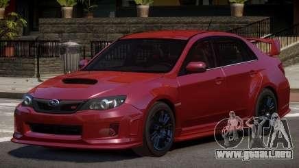 Subaru Impreza WRX SR para GTA 4