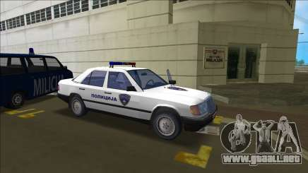 Norte De La Policía De Macedonia Mercedes para GTA Vice City