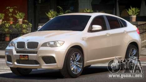 BMW X6M NR para GTA 4
