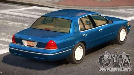 Ford Crown Victoria SP para GTA 4