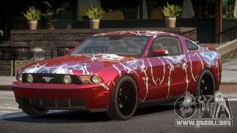Ford Mustang MS PJ5 para GTA 4