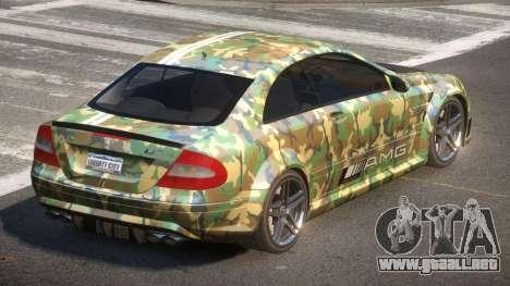 Mercedes Benz CLK63 SR PJ6 para GTA 4