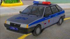 Vaz 2109 DPS st. Petersburg para GTA San Andreas