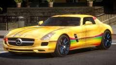 Mercedes Benz SLS GST PJ4 para GTA 4