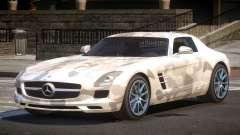 Mercedes Benz SLS GST PJ1 para GTA 4