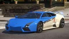 Lambor Reventon GRS PJ5 para GTA 4