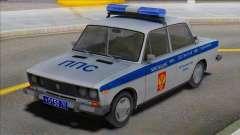 Vaz 2106 Policía PPP para GTA San Andreas