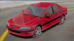Peugeot Pars TU5 Factory para GTA San Andreas