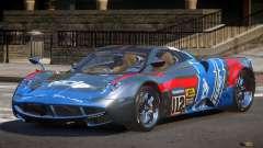 Pagani Huayra BS PJ4 para GTA 4