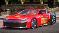 Lexus LFA Nurburgring Edition PJ6 para GTA 4