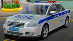 Toyota Avensis SOBRE la policía de tráfico