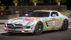 Mercedes Benz SLS GST PJ5 para GTA 4