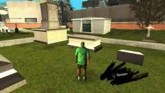 Corrección de las tumbas en el cementerio de Los Santos para GTA San Andreas