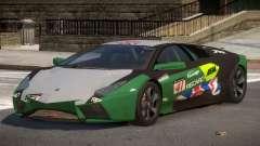 Lambor Reventon GRS PJ3 para GTA 4