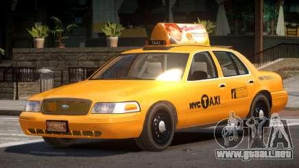 Ford Crown Victoria LS Taxi para GTA 4