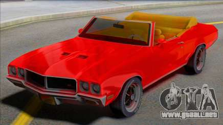 1970 Buick GS Cabrio - Juice WRLD Edition para GTA San Andreas