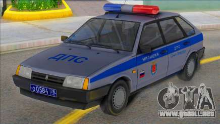 Vaz 2109 DPS st. Petersburg para GTA San Andreas