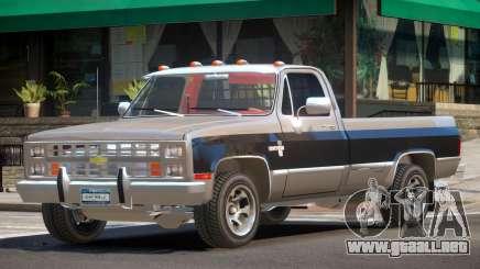 Chevrolet Silverado ST V1.0 para GTA 4