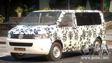 Volkswagen Transporter T5 MS PJ5 para GTA 4
