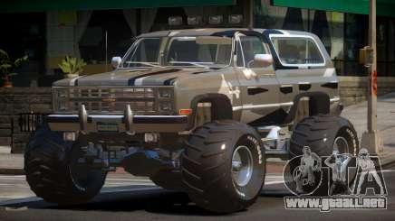 Chevrolet Blazer Custom PJ4 para GTA 4
