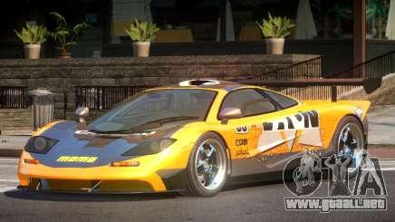 McLaren F1 BS PJ5 para GTA 4