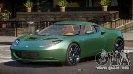 Lotus Evora ZMN para GTA 4