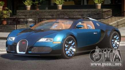 Bugatti Veyron GST para GTA 4