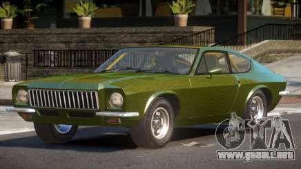 1978 Puma GTB PJ4 para GTA 4