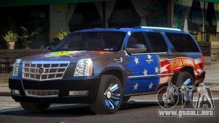 Cadillac Escalade SP PJ5 para GTA 4