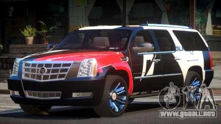Cadillac Escalade SP PJ6 para GTA 4