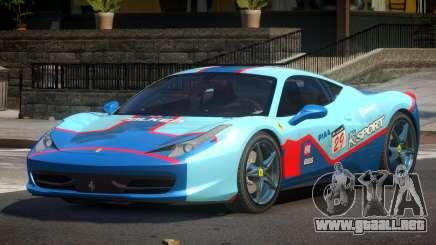 Ferrari 458 PSI PJ4 para GTA 4