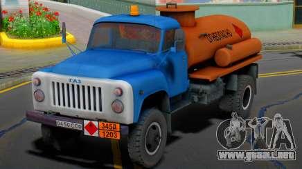 GAZ 53 Inflamable para GTA San Andreas