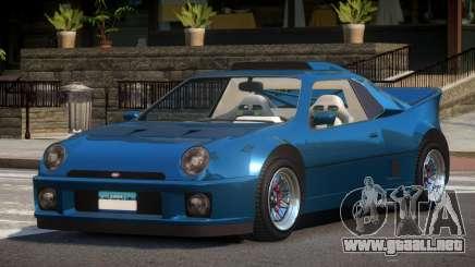 Vapid GB200 para GTA 4