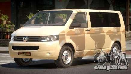 Volkswagen Transporter T5 MS PJ2 para GTA 4