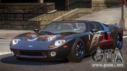 2005 Ford GT PJ1 para GTA 4