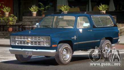 Chevrolet Blazer ST para GTA 4