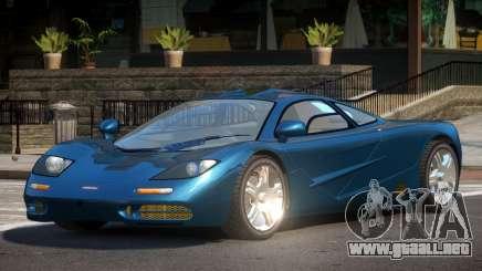 McLaren F1 PSI para GTA 4