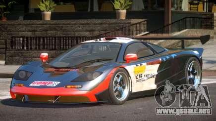 McLaren F1 BS PJ1 para GTA 4